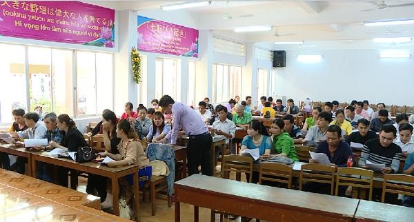 Lao động Đồng Tháp ký hợp đồng chuẩn bị sang Hàn Quốc làm việc thời vụ