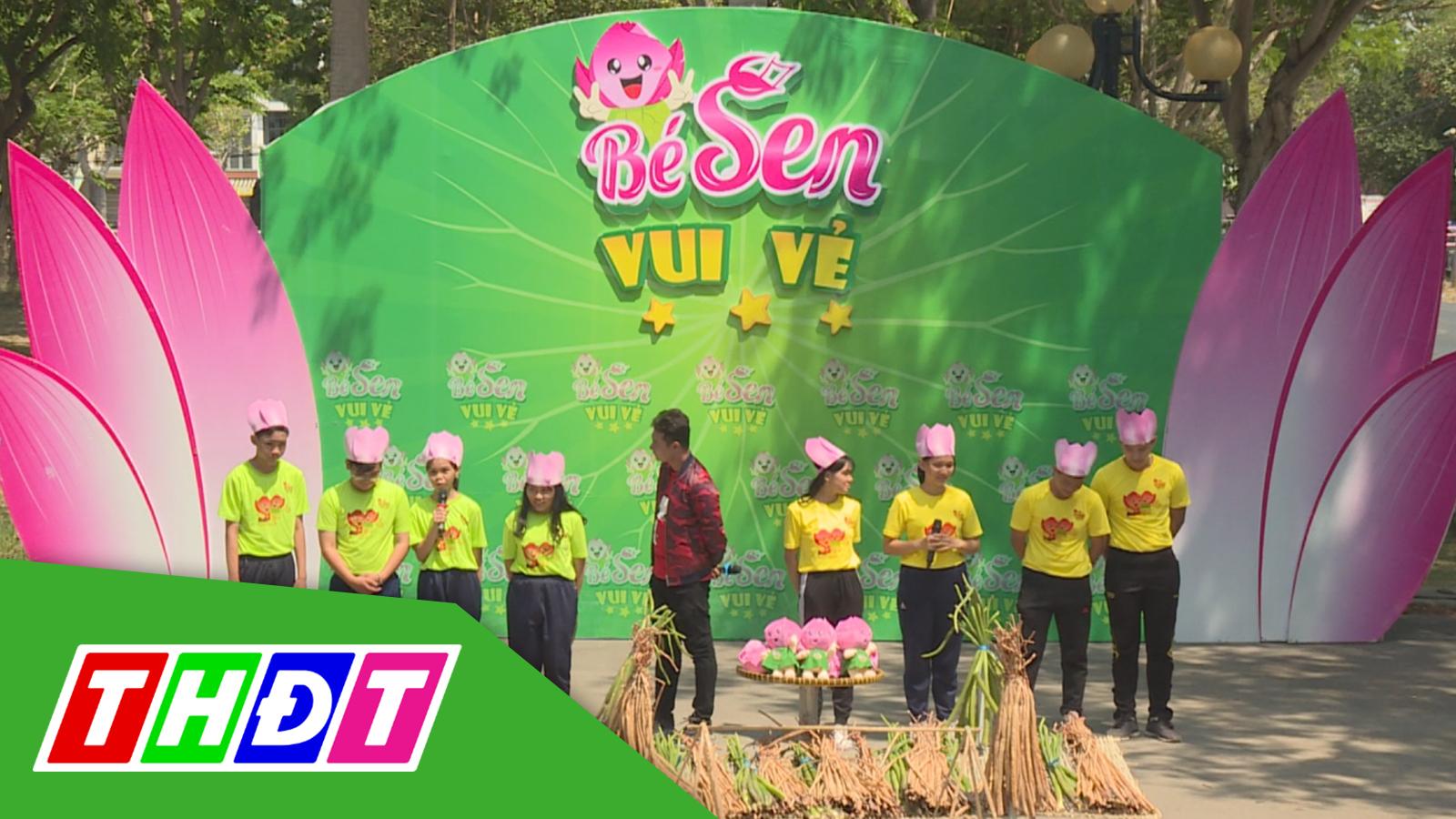 Gameshow Bé Sen vui vẻ – Tập 16: Vườn quốc gia Tràm Chim (Tam Nông)