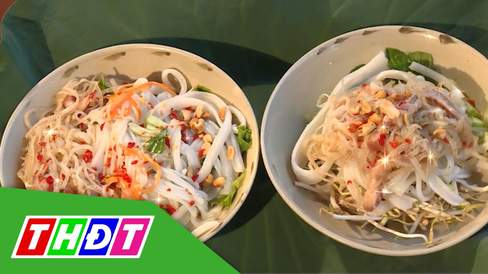 Ẩm thực đất sen hồng - 24/8/2020 - Thưởng thức đặc sản cá sửu và món dưa mắm xào thịt ba rọi