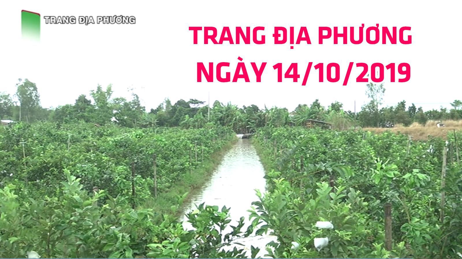 Trang tin địa phương - 14/10/2019 - Huyện Tháp Mười
