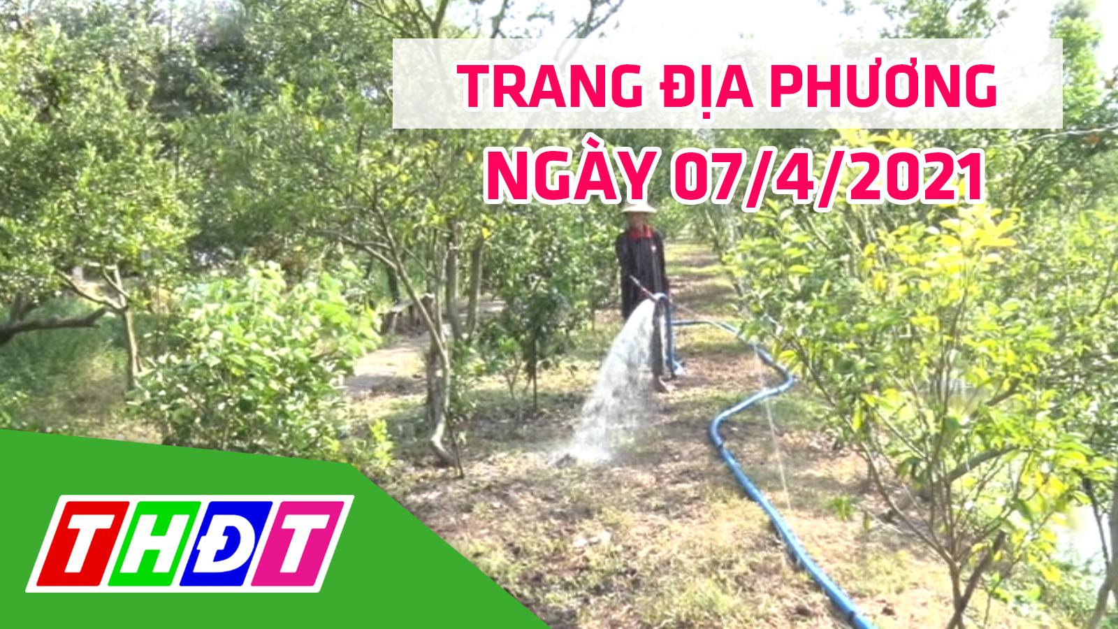 Trang địa phương - Thứ Tư, 14/4/2021 - H. Cao Lãnh