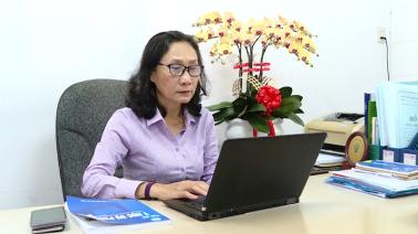 Hương sen Đồng Tháp - 05/03/2021: BS Võ Thị Kim Oanh - Hoa sen trắng của y tế ĐT