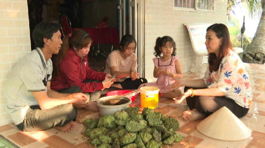 Vượt dốc - 09/4/2021: Gia đình anh Phạm Văn Quý (H.Tháp Mười)