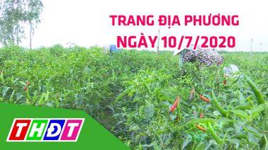 Trang địa phương - Thứ Sáu, 10/7/2020 - H.Thanh Bình