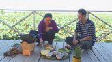 Chuột đồng xào kiệu + Trà gừng mật ong: Ẩm thực Đất sen hồng - 07/4/2019