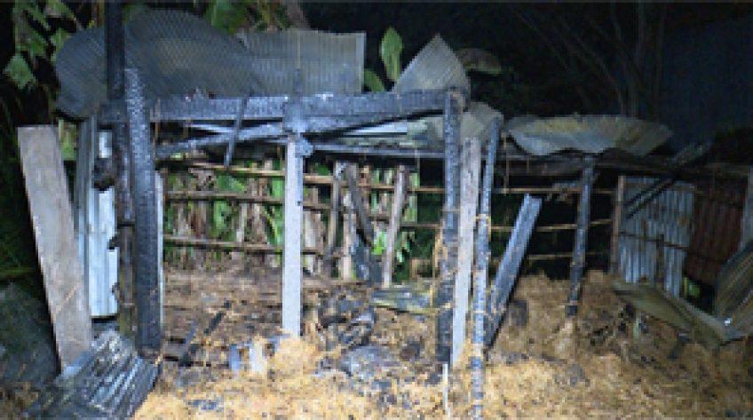 Tân Hồng: Hỏa hoạn do chập điện, 1 căn nhà bị thiêu rụi
