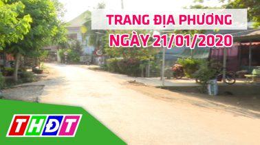 Trang địa phương - Thứ Ba, 21/01/2020 - Huyện Hồng Ngự