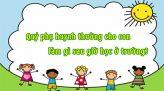 Làm bạn cùng con - Kì 17: Cãi nhau trước mặt con trẻ