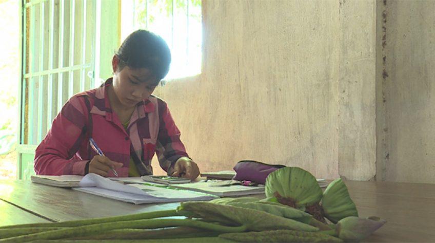 Thắp sáng ước mơ - 24/7/2020: Em Lê Thị Hồng Hạnh, huyện Tháp Mười