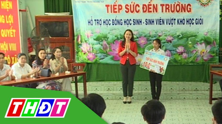Tiếp sức đến trường: Em Lê Thị Thảo ở huyện Thanh Bình - 08/03/2019