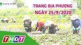 Trang tin địa phương - Thứ ba, 29/9/2020 - Huyện Hồng Ngự