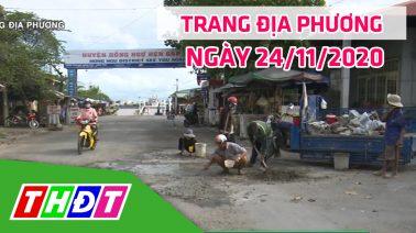 Trang tin địa phương - Thứ ba, 24/11/2020 - Huyện Hồng Ngự