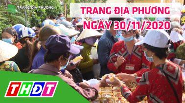 Trang tin địa phương - 30/11/2020 - Thành phố Cao Lãnh