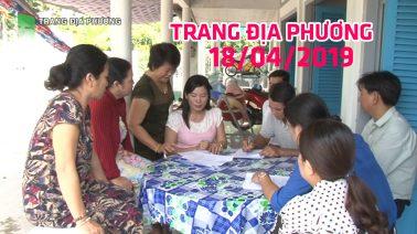 Trang tin địa phương - Thứ Năm, 18/04/2019 - Huyện Châu Thành