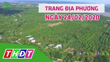 Trang tin địa phương - Thứ hai, 24/02/2020 - Thành phố Cao Lãnh