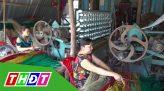 Lúa đen trồng thử nghiệm ở H.Cao Lãnh đã được thu hoạch