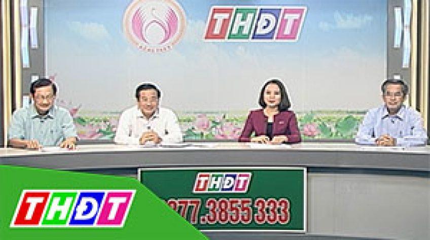 Đồng hành cùng nhân dân - 09/8/2019 - Tháp Mười quyết tâm đạt Huyện nông thôn mới 201919